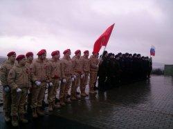 Проводы призывников в воинские части Северного флота
